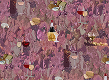 Wine and Cheese Pattern